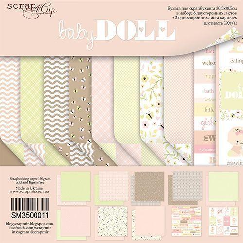 BABYDOLL - Scrapmir chipboard la esquinita del scrap tienda online scrapbooking scrapbook papeles stickers die cuts blocs colecciones 1