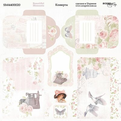 BEAUTIFUL MOMENTS - Scrapmir chipboard la esquinita del scrap tienda online scrapbooking scrapbook papeles stickers die cuts blocs colecciones