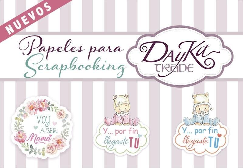 Dayka Trade México - la esquinita del scrap tienda online scrapbooking scrapbook papeles blocs colecciones sellos stickers die cuts 2