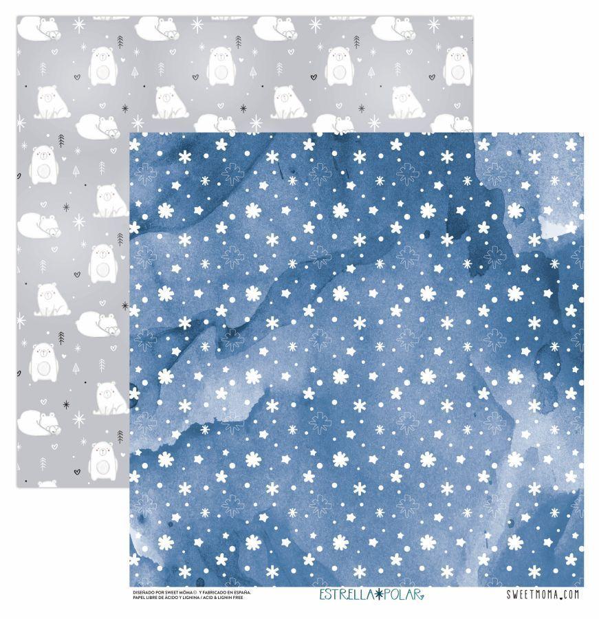 Sweet Moma Estrella Polar la esquinita del scrap tienda online scrapbooking scrapbook papeles blocs colecciones sellos stickers