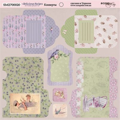DELICIOUS RECIPES - Scrapmir chipboard la esquinita del scrap tienda online scrapbooking scrapbook papeles stickers die cuts blocs colecciones