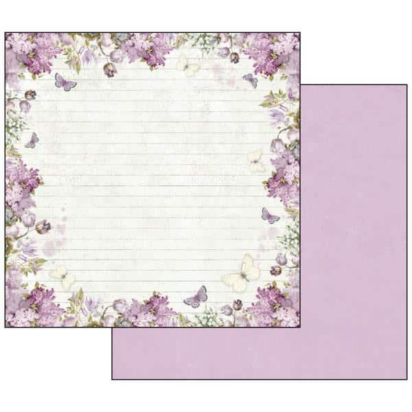 Lilac Flowers - STAMPERIA - scrapbook la esquinita del scrap tienda online de scrapbooking venta de colecciones papeles stickers die cuts chapas troqueles suajes sellos