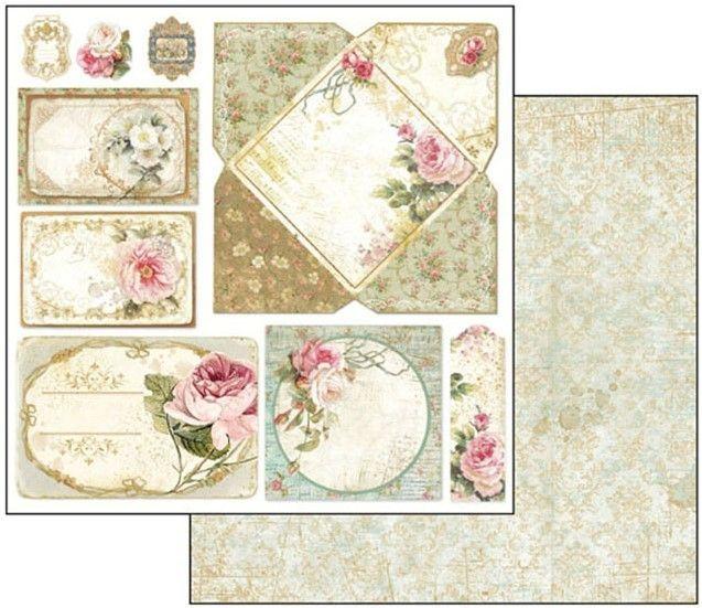 Precious - STAMPERIA - scrapbook la esquinita del scrap tienda online de scrapbooking venta de colecciones papeles stickers die cuts chapas troqueles suajes sellos