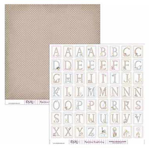 PAPEL LETRAS - Dayka Trade - la esquinita del scrap scrapbook coleccion papeles die cuts sellos stickers pads