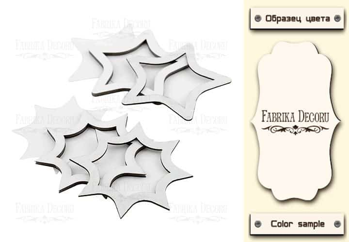ESTRELLAS STARS SHAKER - FABRIKA DECORU la esquinita del scrap scrapbooking papeles stickers perforadoras colecciones die cuts sellos tintas troquelados online