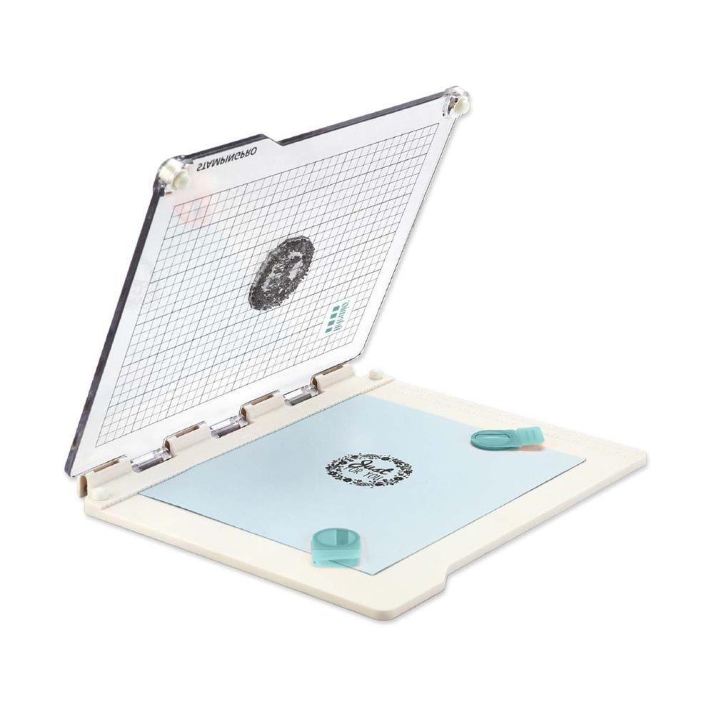 18002120 plataforma de estampación STAMPINGPRO - Artemio Perforadora la esquinita del scrap scrapbooking papeles colecciones sellos tintas die cuts online