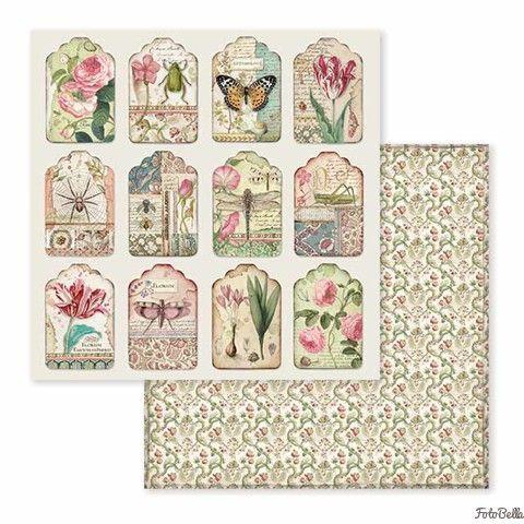 Spring Botanic - STAMPERIA - scrapbook la esquinita del scrap tienda online de scrapbooking venta de colecciones papeles stickers die cuts chapas troqueles suajes sellos