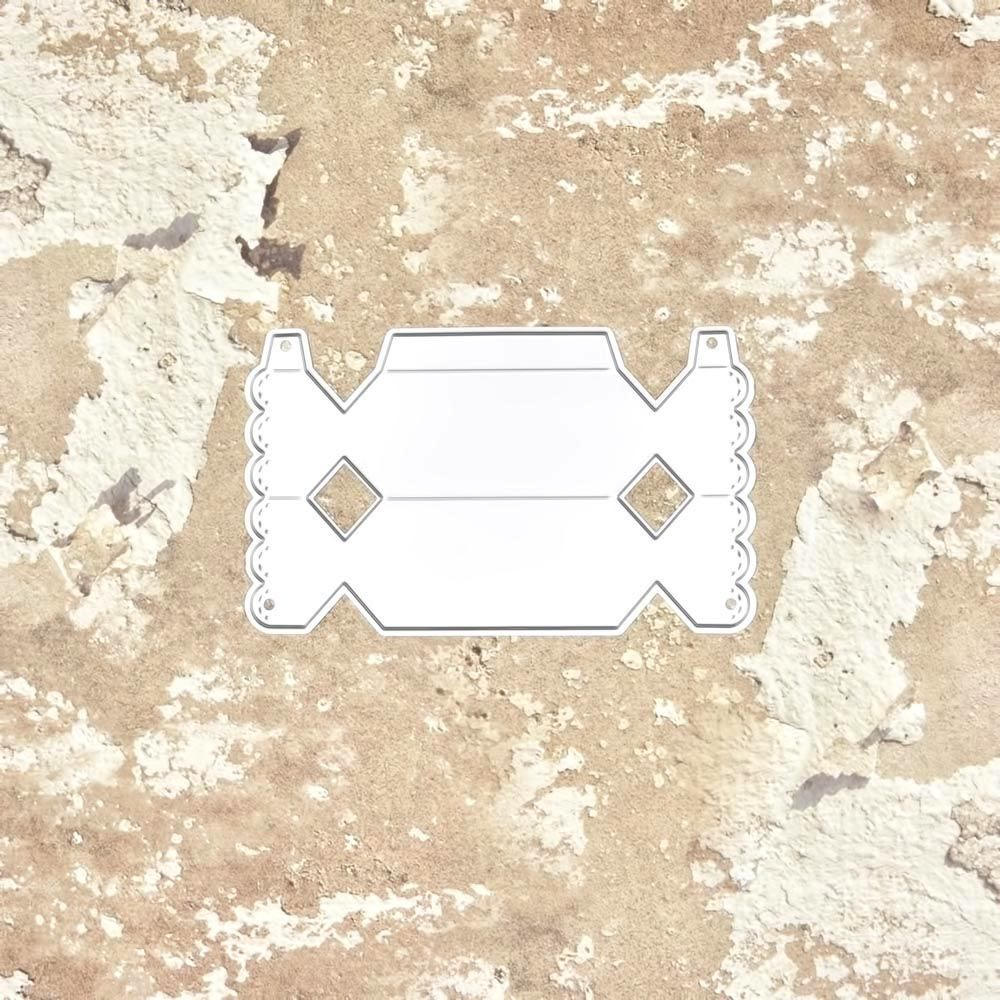 07904 caja caramelo 3D - SUAJE SUZZY CUT N CUT metálico die cut troquel La esquintia del scrap México tienda online