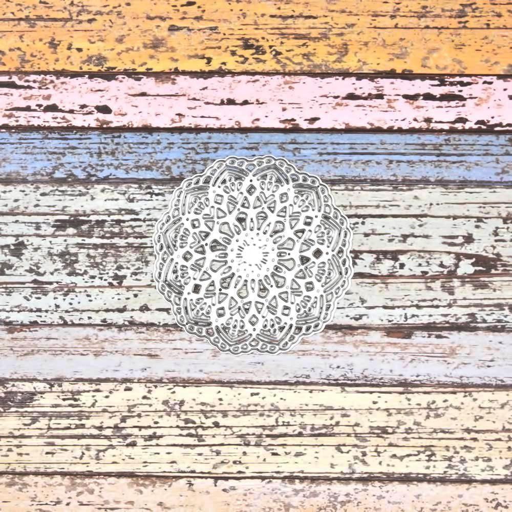 07911 círculo blonda - SUAJE SUZZY CUT N CUT metálico die cut troquel La esquintia del scrap México tienda online