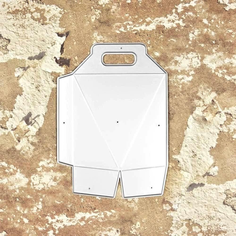19901 caja bolsa hexagonal 3D - SUAJE SUZZY CUT N CUT metálico die cut troquel La esquintia del scrap México tienda online