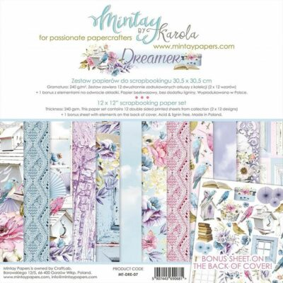 12x12 Kit de Scrapbook Collection Mintay-Historias De Navidad