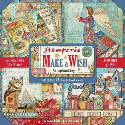 MAKE A WISH - STAMPERIA - scrapbook la esquinita del scrap online de scrapbooking coleccion papel stickers die cuts chapas troqueles suajes sellos