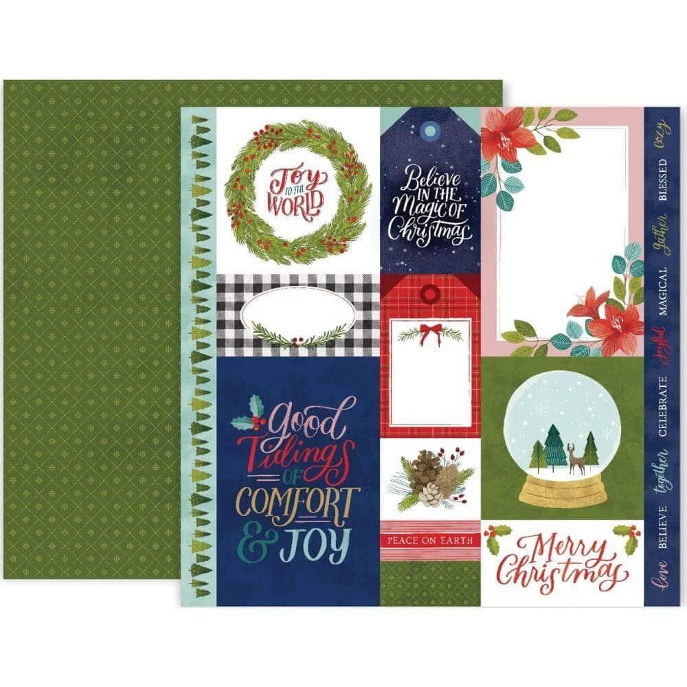 PINK PAISLEE Together for Christmas colección navidad American Craft la esquinita del scrap México scrapbooking christmas