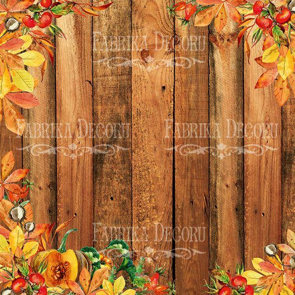 BOTANY AUTUMN - Fabrika Decoru scrapbooking colección otoño hojas flores La esquinita del scrap México
