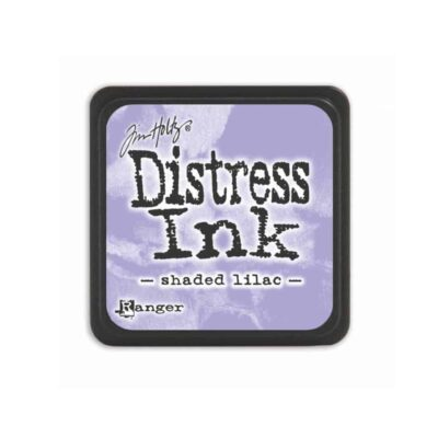 shaded lilac MINI DISTRESS INK PAD - ranger Tim Holtz la esquinita del scrap Mexico scrapbook