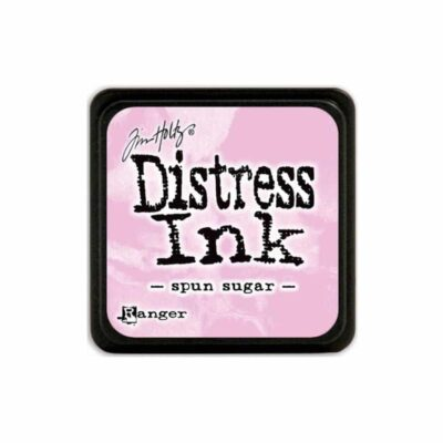 spun sugar MINI DISTRESS INK PAD - ranger Tim Holtz la esquinita del scrap Mexico scrapbook