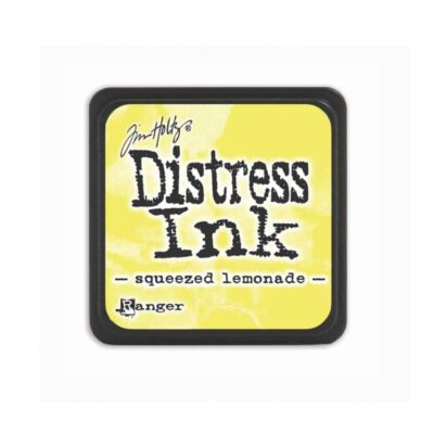 squeezed lemonade MINI DISTRESS INK PAD - ranger Tim Holtz la esquinita del scrap Mexico scrapbook