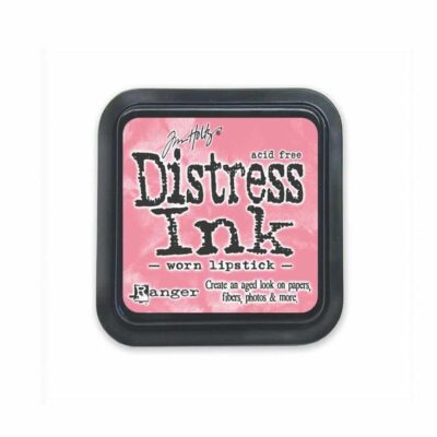 worn lipstick MINI DISTRESS INK PAD - ranger Tim Holtz la esquinita del scrap Mexico scrapbook