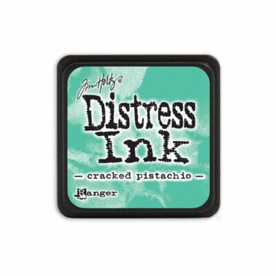 cracked pistachio MINI DISTRESS INK PAD - ranger Tim Holtz la esquinita del scrap Mexico scrapbook
