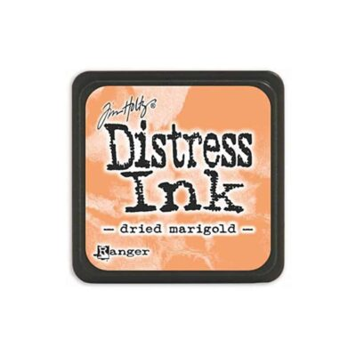 dried marigold MINI DISTRESS INK PAD - ranger Tim Holtz la esquinita del scrap Mexico scrapbook