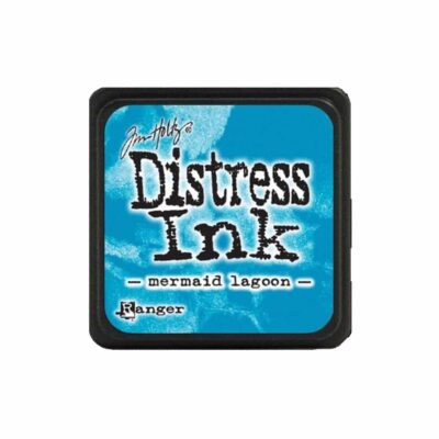 mermaid lagoon MINI DISTRESS INK PAD - ranger Tim Holtz la esquinita del scrap Mexico scrapbook 1