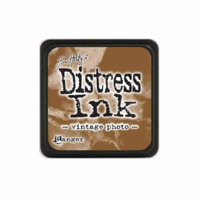 vintage photo MINI DISTRESS INK PAD - ranger Tim Holtz la esquinita del scrap Mexico scrapbook