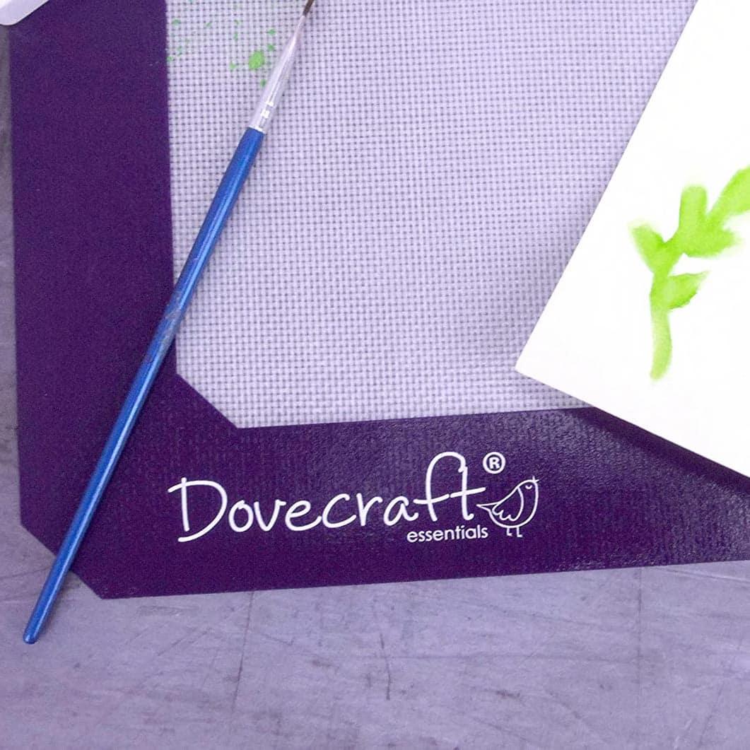 A3 heat proof messy mat DOVECRAFT tapete resistente calor scrapbook La esquinita del scrap México
