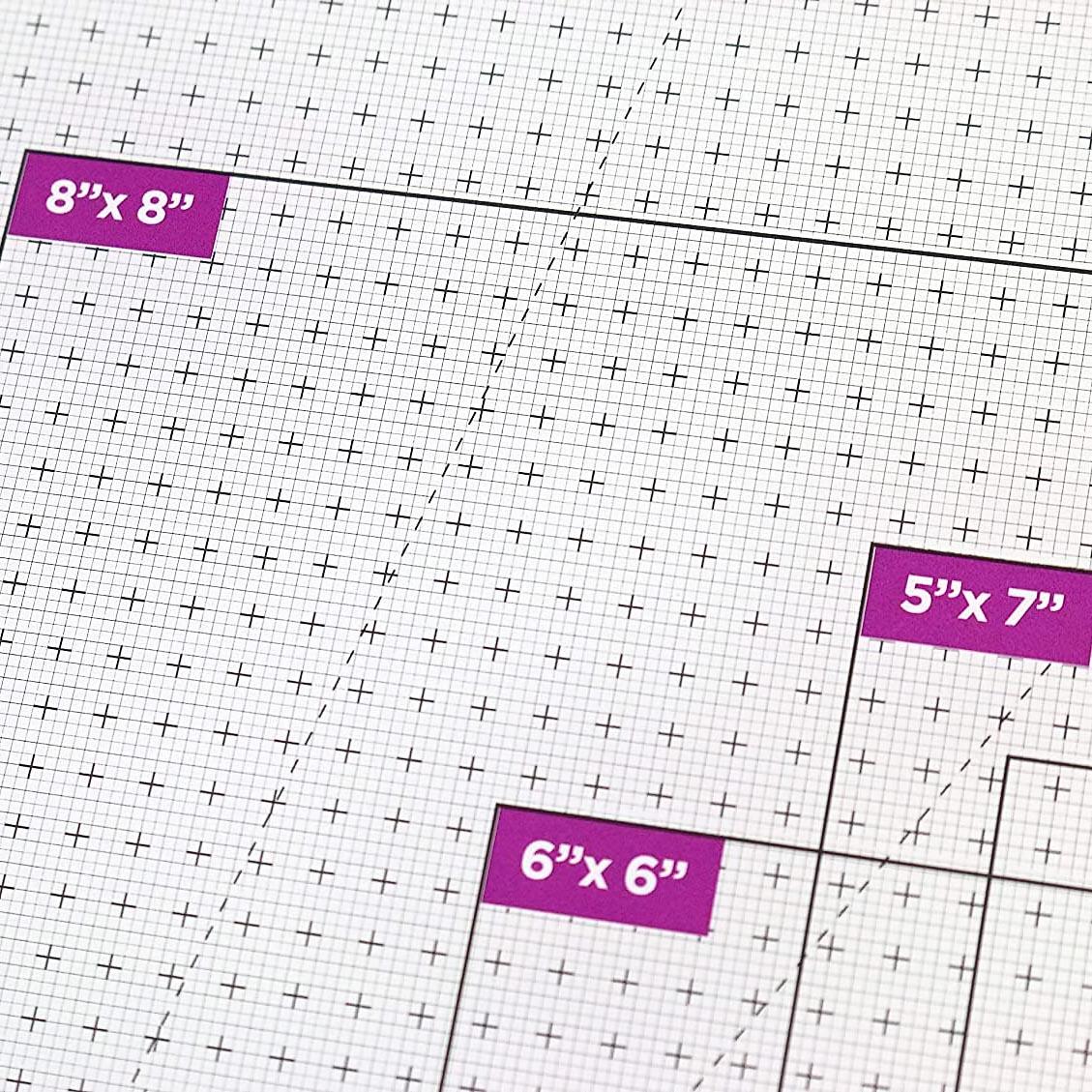 Dovecraft Essentials A3 Glass Cutting Mat Base de corte vidrio scrapbook La esquinita del scrap México