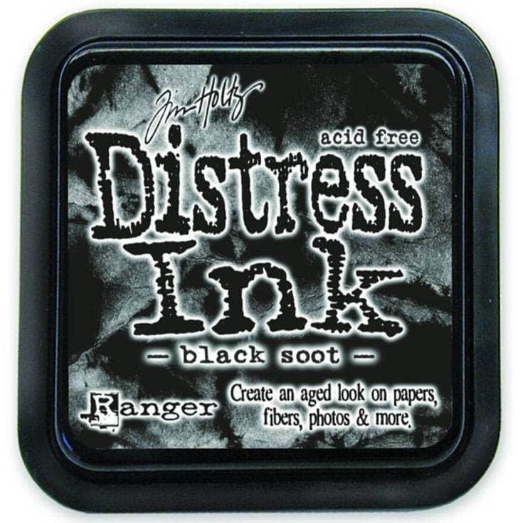 black soot DISTRESS INK PAD - ranger Tim Holtz la esquinita del scrap Mexico scrapbook 1