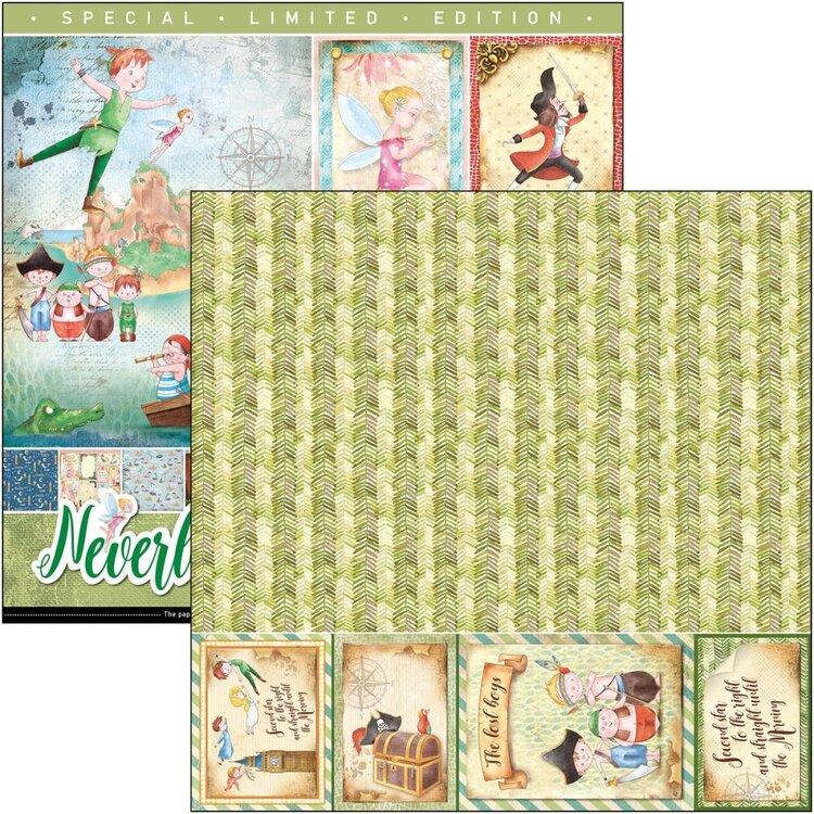 NEVERLAND Ciao Bella scrapbook niños Peter Pan cuento La esquinita del scrap México