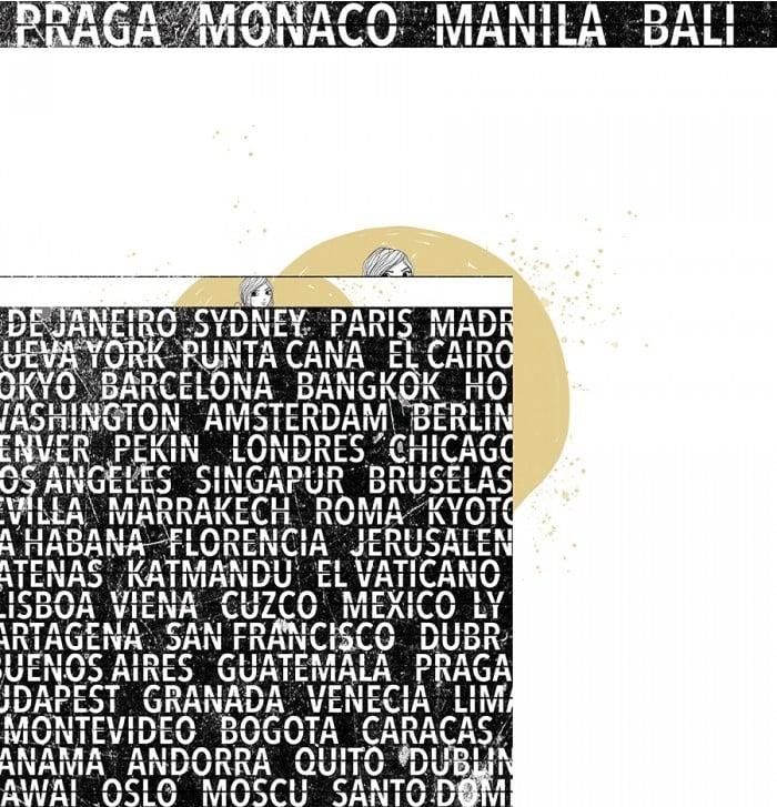 pad papeles colección TRAVEL Alúa Cid scrapbooking viajes vacaciones La esquinita del scrap México