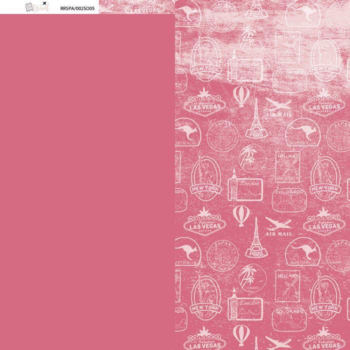 papeles básicos colección TRAVEL Alúa Cid scrapbooking viajes vacaciones La esquinita del scrap México