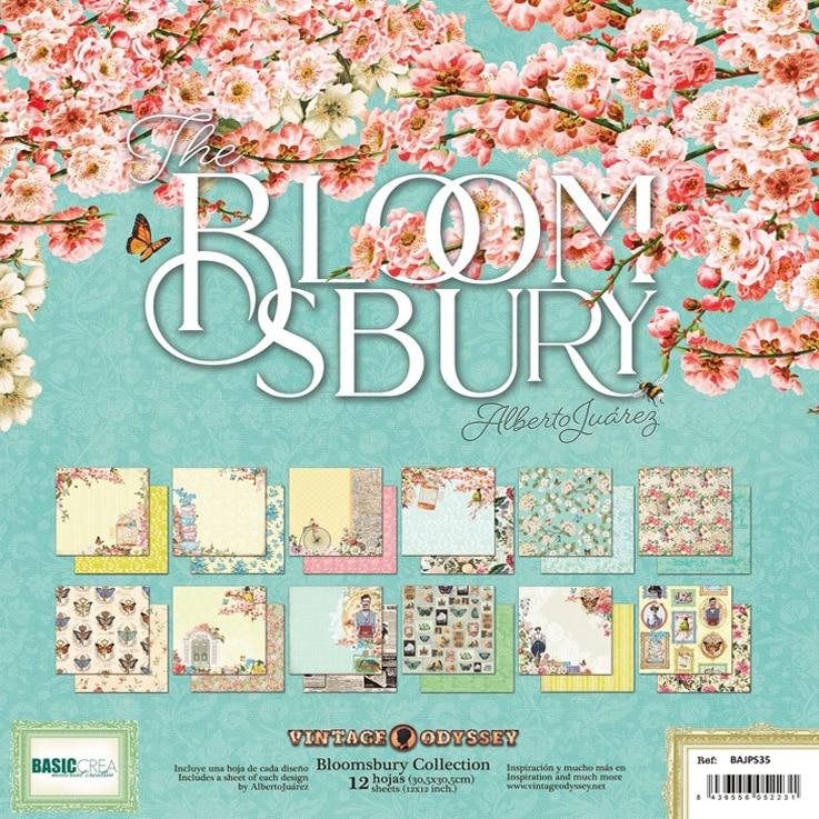colección The Bloomsbury de Alberto Juárez Basiccrea scrapbookingvintage enamorados La esquinita del scrap México