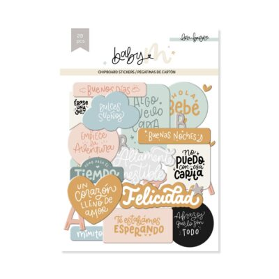ELB0101 - FRASES CHIPBOARD BABY M