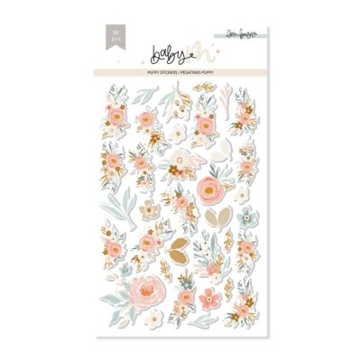 ELB0104 - PUFFY FLORES BABY M